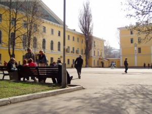 Двор Киево-Могилянской академии