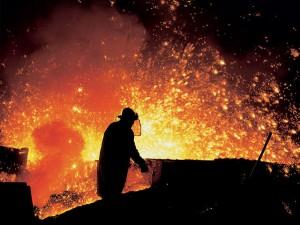 На металлургическом предприятии