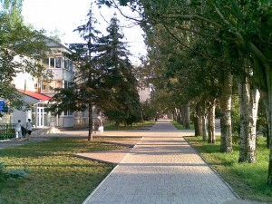 На улицах Скадовска