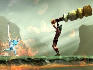 Скриншот игры God of Blades
