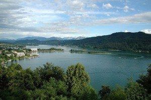 Озеро Вёртер-Зе в Каринтии