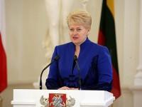 Даля Грибаускайте, Президент Литвы