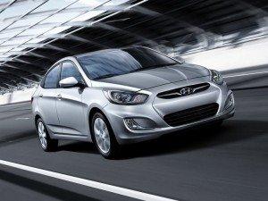 Hyundai Accent. Фото Hyundai