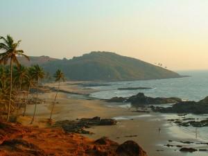 Пляж на Гоа, Индия
