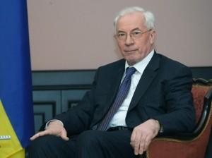 Николай Азаров, премьер-министр Украины