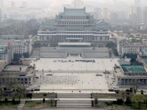 Площадь имени Ким Ир Сена, Пхеньян, КНДР