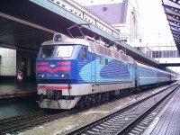 У первого пути вокзала Киев-Пассажирский