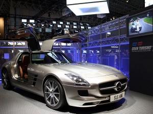 Экспозиция игры Gran Turismo 5 на Tokyo Game Show в 2009 году