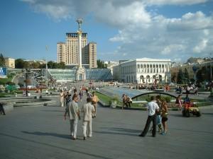 Площадь Независимости, Киев, Украина