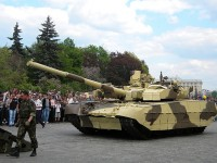 """Украинский танк T-84 """"Оплот-М"""""""