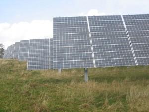 Батареи солнечной электростанции