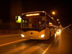 Электробус компании BYD (Китай)