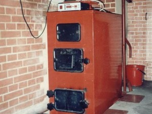 Твердотопливный котел центрального отопления