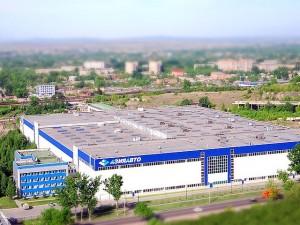 Здание существующего завода АО АЗИЯ АВТО