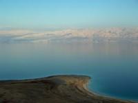 Вид с израильского берега в сторону Иордании