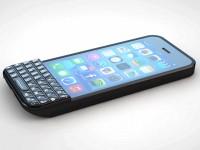 Смартфон iPhone с аксессуаром Type