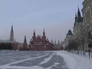 Красная площадь зимой