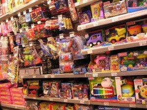 В магазине детских товаров