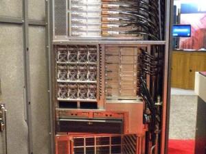 Стойка суперкомпьютера Fujitsu K
