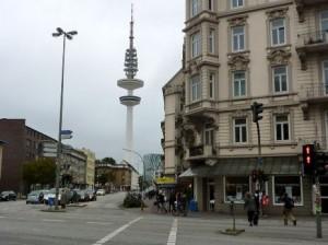 На улицах Гамбурга