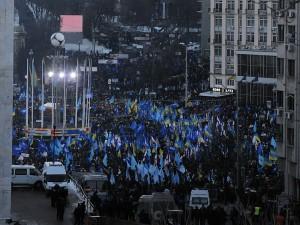 Анти-евромайдан в Киеве