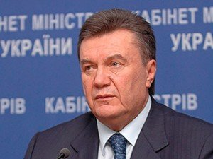 Виктор Янукович. Фото Игоря Кругленко