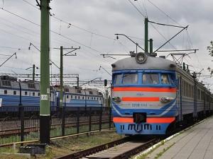 На железнодожном вокзале Святогорска. Фото - Vivan755