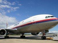 Boeing 777 авиакомпании Malaysia Airlines. Фото Chris Finney
