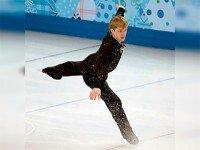 Евгений Плющенко на Олимпиаде 2014. Фото пресс-службы Президента России