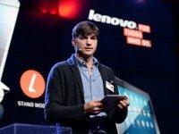 Эштон Катчер в Lenovo