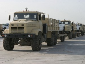 Бортовые грузовики КрАЗ-6322