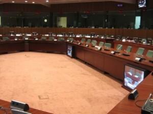Зал заседаний Совета ЕС в Брюсселе. Фото - JLogan