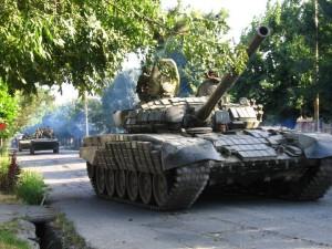 Танк российской армии в Южной Осетии. Фото - Yana Amelina (Амелина Я. А.)
