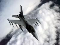F-16A ВВС Норвегии в небе над Балканами