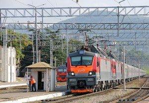 Поезд РЖД. Фото Дмитрия 303