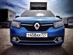 Renault Logan 2. Фото Анны Побережнюк