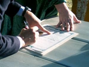 Подписание контракта