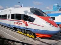 Электропоезд Velaro RUS (Сапсан) производства компании Siemens