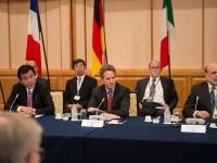 """Саммит """"Большой семерки"""" в Токио, октябрь 2012 года"""