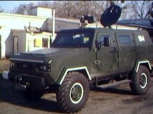 Бронеавтомобиль СРМ-1 Козак. Фото - Zinnsoldat