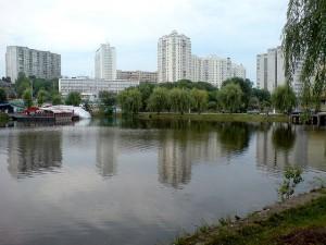 Ореховатский пруд в Голосеевском парке им. Рыльского. Фото - I, Dgri