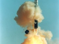 Пуск конверсионной ракеты-носителя «Днепр» на базе МБР 15А18. Фото - ISC Kosmotras