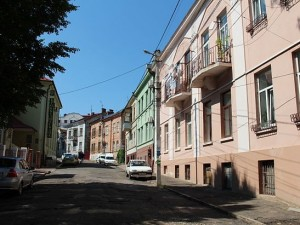 Улица Симовича, Черновцы. Фото - Maupa96