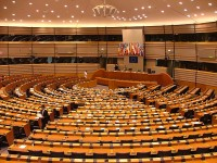 Зал заседаний Европарламента в Брюсселе. Фото - Alina Zienowicz Ala z