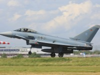 Истребитель Eurofighter ВВС Германии. Фото - Wo st 01
