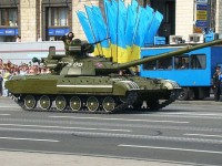 Танк ВС Украины Т-64. Фото -  Віталій