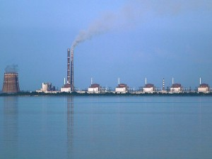 Запорожская АЭС. Фото  Ralf1969