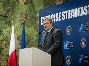 Президент Польши Бронислав Коморовский. Фото - SFJZ13