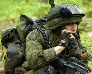 Литовский военнослужащий. Фото - Ministry of National Defence Republic of Lithuania (Министерство обороны Литвы)