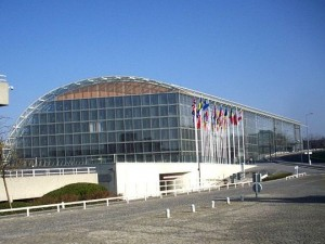 Штаб-квартира Европейского инвестиционного банка в Люксемборге. Фото - Palauenc05